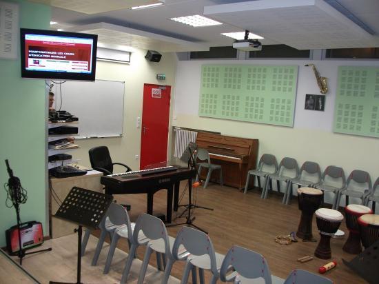 salle de musique misericorde